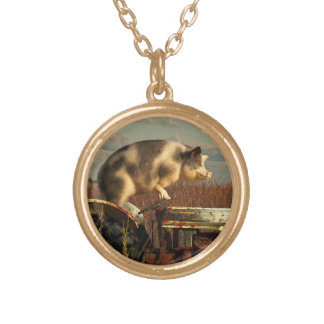 The Dream of a Pig Pendants