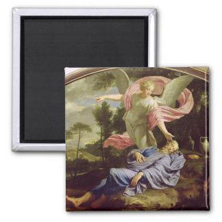 The Dream of Elijah, 1650-55 Refrigerator Magnet