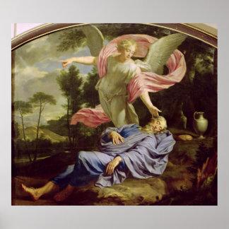 The Dream of Elijah, 1650-55 Poster