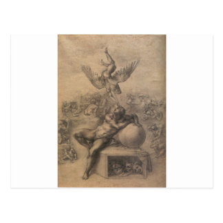The Dream of Human Life by Michelangelo Postcard