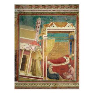 The Dream of Innocent III, 1297-99 Postcard