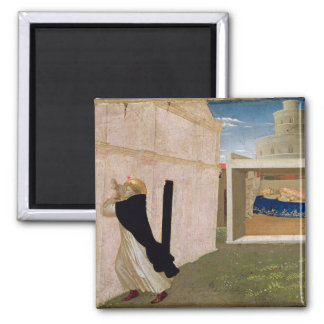 The Dream of Innocent III 2 Inch Square Magnet