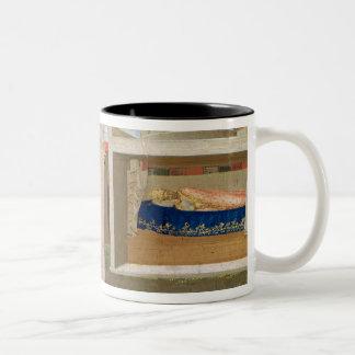 The Dream of Innocent III Two-Tone Coffee Mug