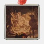 The Dream of Ossian, 1813 Christmas Ornaments
