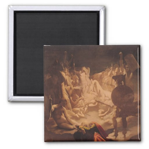 The Dream of Ossian, 1813 Magnets