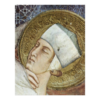 """The Dream Of St. Martin  By Simone Martini 8.5"""" X 11"""" Flyer"""