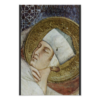 The Dream Of St. Martin  By Simone Martini Posters