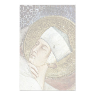 The Dream Of St. Martin  By Simone Martini Personalized Stationery