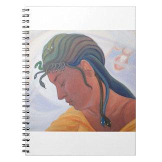 The Dream of the Doomed Priestess - detail Medusa Notebook