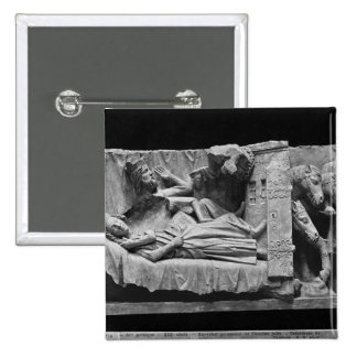 The dream of the Magi, from the Cathedral 2 Inch Square Button