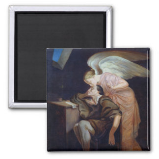 The Dream of the Poet 2 Inch Square Magnet