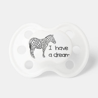 the dream of the zebra pacifier