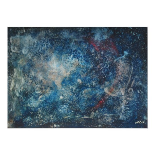 'The Dream' Watercolor canvas print  by unASLEEP