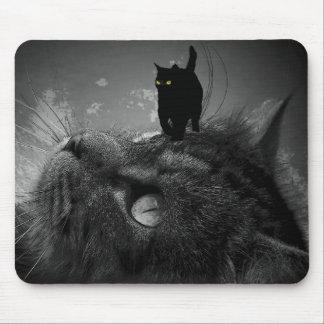 The Dreamer and the Fur Ninja Mouse Pad