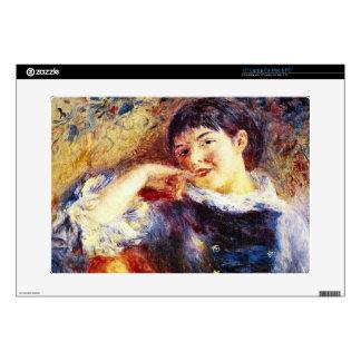 The Dreamer by Pierre Renoir Laptop Skin