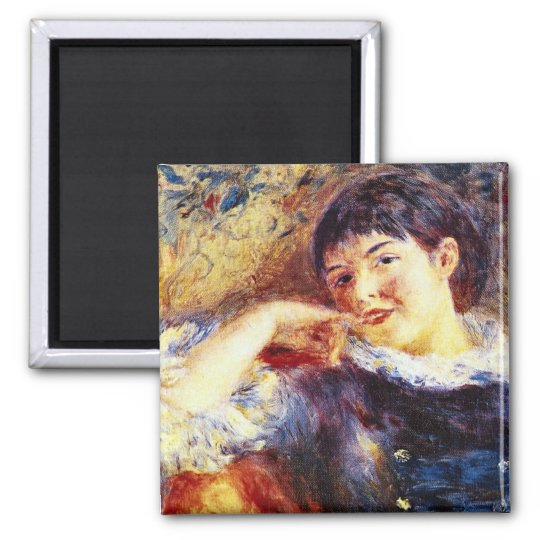 The Dreamer by Pierre Renoir Magnet