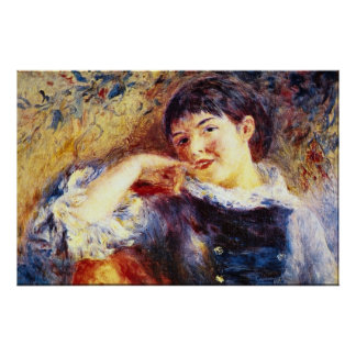 The Dreamer by Pierre Renoir Poster