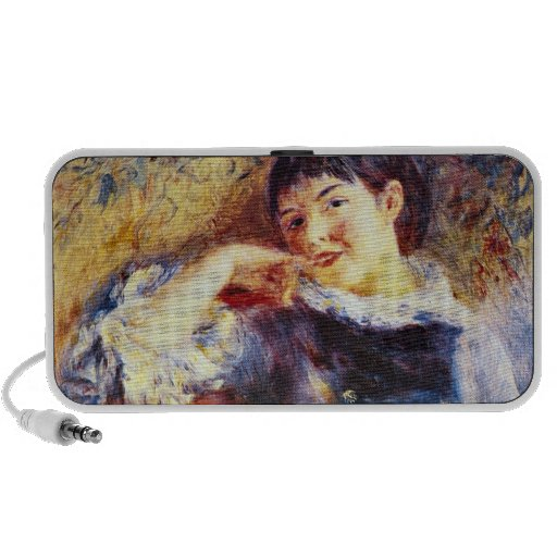 The Dreamer by Pierre Renoir Laptop Speaker