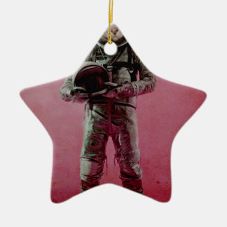 the dreamer Double-Sided star ceramic christmas ornament