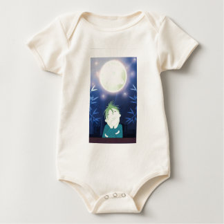 The dreamer in the city baby bodysuit