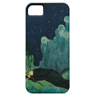 The Dreamer of Dreams: A Circle of Mist iPhone 5 Cover