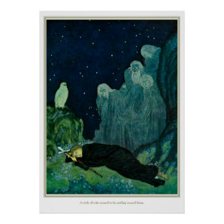The Dreamer of Dreams: A Circle of Mist Print
