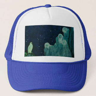 The Dreamer of Dreams: A Circle of Mist Trucker Hat