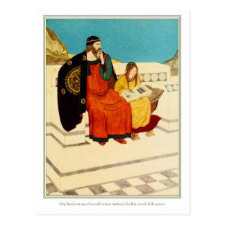 The Dreamer of Dreams: King Wanda Postcard