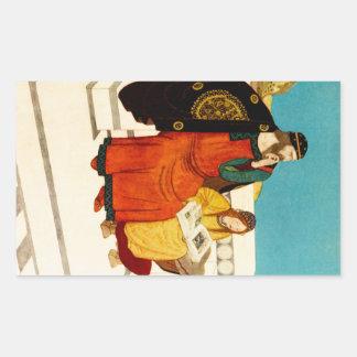 The Dreamer of Dreams: King Wanda Rectangular Sticker