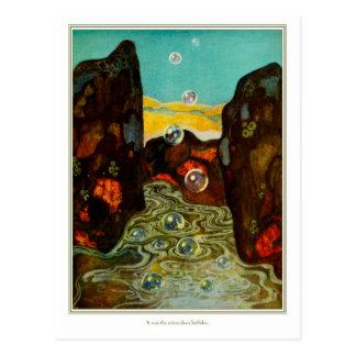 The Dreamer of Dreams: Miraculous Bubbles Postcard