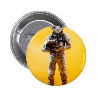 the dreamer yellow pinback button