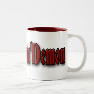 The Dreamin' Demon Cup o' Hell Two-Tone Coffee Mug