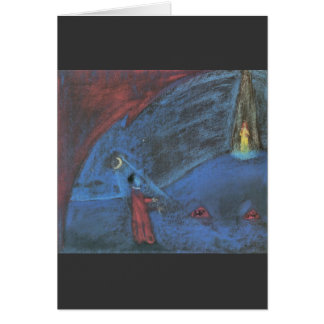 The dreaming boy II by Walter Gramatte Card