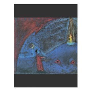 The dreaming boy II by Walter Gramatte Postcard