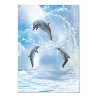 The Dreams Of Dolphins Card