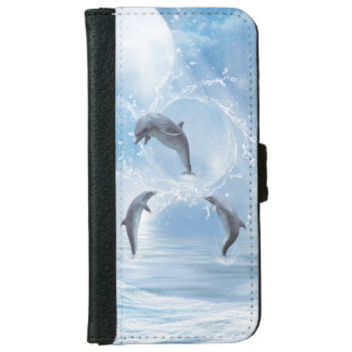 The Dreams Of Dolphins Wallet Phone Case For iPhone 6/6s