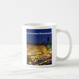 The Dresden Striezelmarkt Classic White Coffee Mug