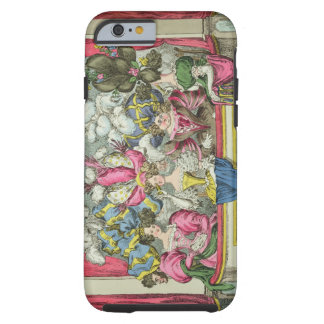 The Dress Circle, published by Thomas McLean, Lond Tough iPhone 6 Case