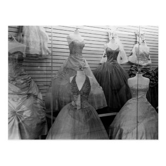 The Dress Shop Postcard