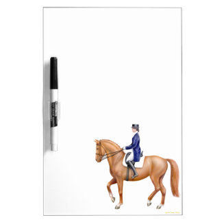 The Dressage Horse Dry Erase Board
