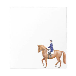 The Dressage Horse Equestrian Notepad