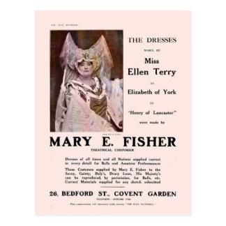 The Dresses of Ellen Terry Postcard Postcard