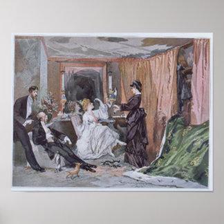 The Dressing Room of Hortense Schneider Poster