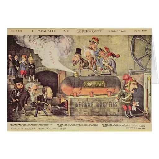 The Dreyfus Affair Card