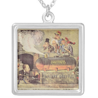 The Dreyfus Affair Silver Plated Necklace