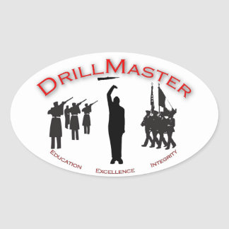 The DrillMaster Sticker