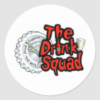 The Drink Squad Sticker