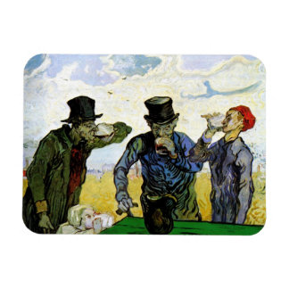The Drinkers by Vincent van Gogh 1890 Magnet