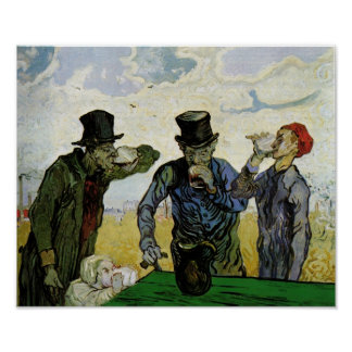 The Drinkers (F667) Van Gogh Fine Art Poster