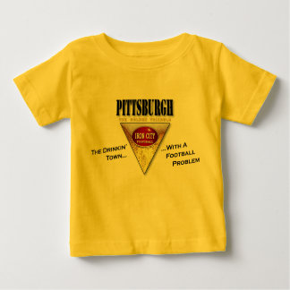 The Drinkin' Town with a Football Problem Baby T-Shirt